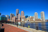 Boston Harbor Waterfront — Stock Photo