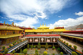 Jokhang monastery — Stock Photo
