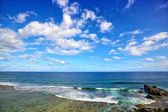 Horizon over Indian Ocean — Stock Photo