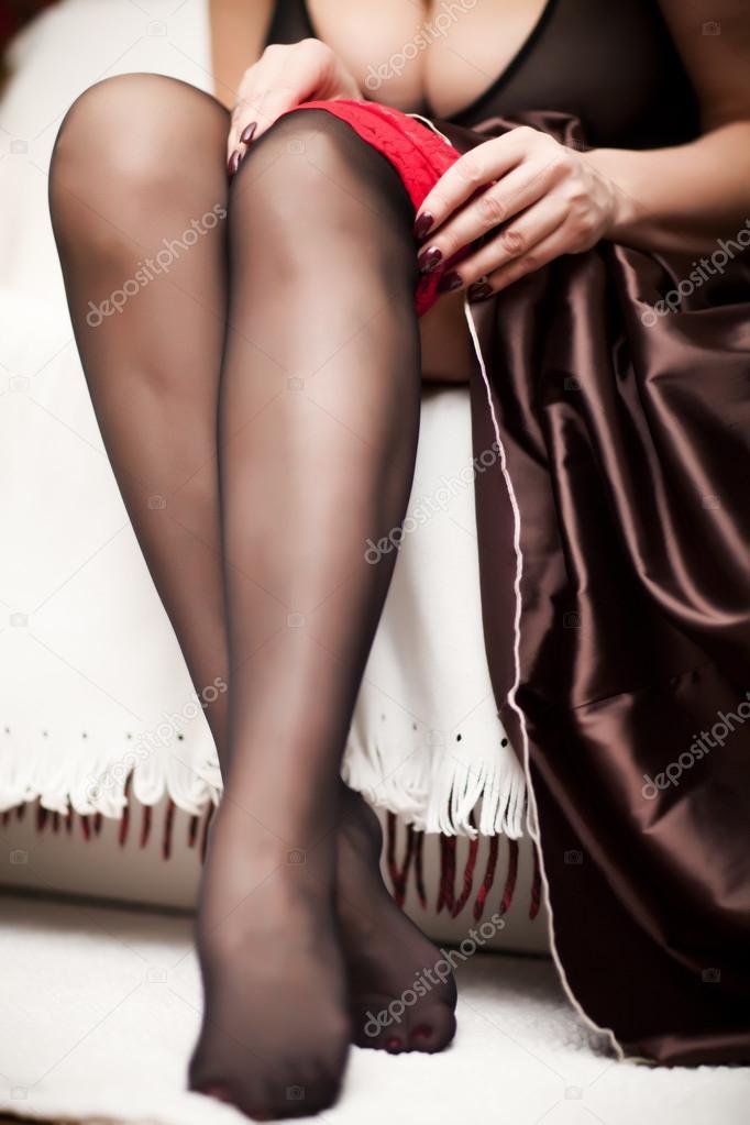чулки ножки фото