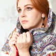 Stockfoto: Womand shawl