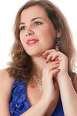 Portrét ženy — Stock fotografie