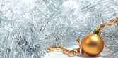 Krásný vánoční stromeček hračka — Stock fotografie