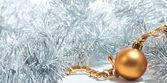 Beautiful Christmas tree toy — Stock Photo