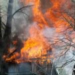 Barn Fire — Stock Photo #45921381