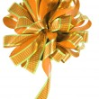 Bow. Clipping path. — Stock Photo