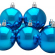 Baubles. Isolated — Stock Photo
