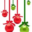 Christmas Baubles. — Stock Photo