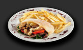 Kebab. — Stock Photo