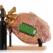 Ham and wine. - Stock Photo