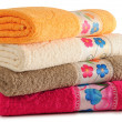 Towels. - Stock Photo
