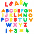 Learning board. - Stock Photo
