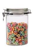 Food jar. Isolated — Stock Photo