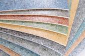 Flooring samples. — Stock Photo