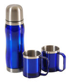 Thermos. Isolated — Stock Photo