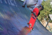 Skateboarding. — Stock Photo