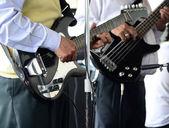 Music band. — Stock Photo