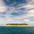 Untouched island — Stock Photo