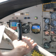 Seaplane Cockpit — Stock Photo