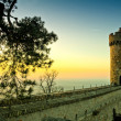 Ancient romantic castle in Germany — Stock Photo #26131111