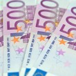 500 Euro banknotes — Stock Photo