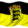 Stock Photo: Baden Wuerttemberg Flag