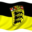 Baden Wuerttemberg Flag — Stock Photo