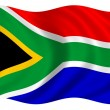 South Africa Flag — Stock Photo #26141371