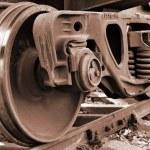 Train wheel — Stock Photo #2802394