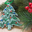 Kerstboom decoraties — Stockfoto