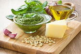 Pesto sause — Stock Photo