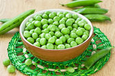 Green peas — Stock Photo