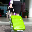 Bags at the airport, motion blur — Stock Photo #16023527