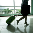 Bags at the airport, motion blur — Stock Photo #16023595