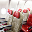 Seat in airplane — Foto de Stock