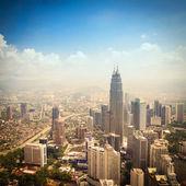 在吉隆坡举行的现代城市 — 图库照片