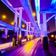 Junction with light in shanghai - Foto de Stock