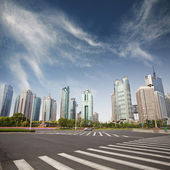 Cityscape of modern city,shanghai — Stock Photo