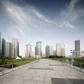 Pohled na architekturu města — Stock fotografie