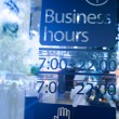 Business hours - Foto Stock