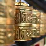 Buddhist prayer wheels — Stock Photo #16176891