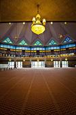Interior of malaysian mosque — Stock Photo