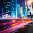 Night scene of modern city — Stock Photo #19521889