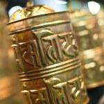Buddhist prayer wheels — Stock Photo #19523683