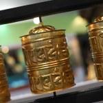 Buddhist prayer wheels — Stock Photo #19523687