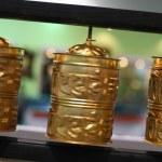 Buddhist prayer wheels — Stock Photo #19523691
