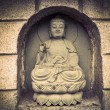 Stone statue of buddha — Stockfoto #19523827