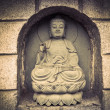 Photo: Stone statue of buddha