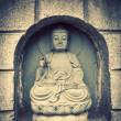 Stone statue of buddha — Stockfoto #19523829
