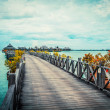 Serenity Boardwalk — Stock Photo